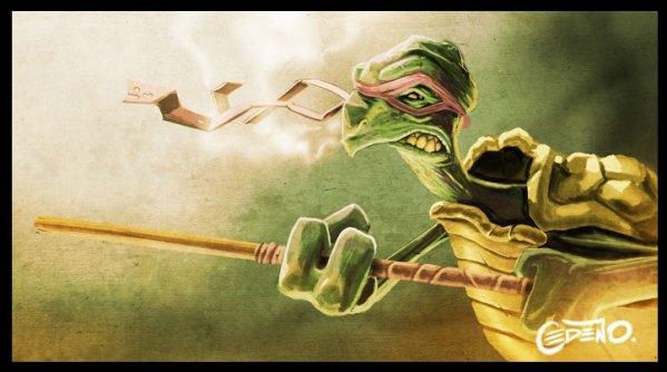 Donatello by Allan Cedeño - Teenage Mutant Ninja Turtles