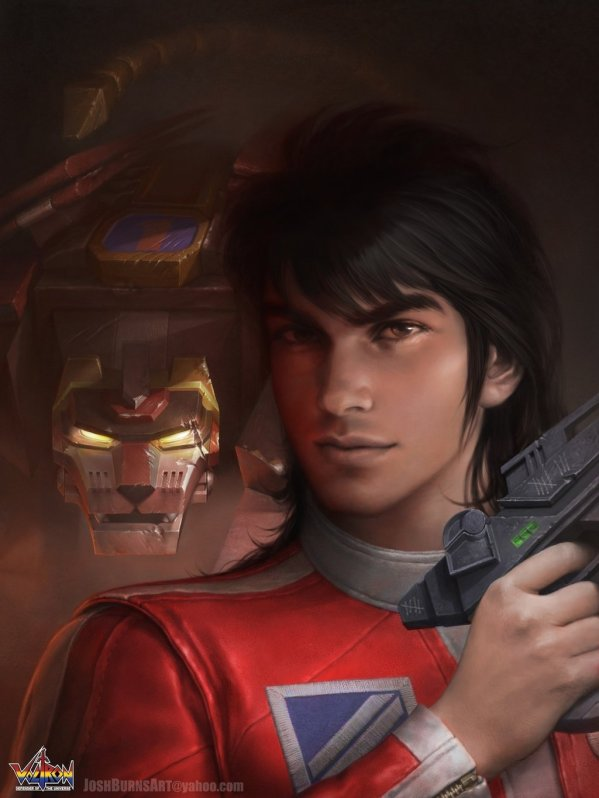 Voltron: Keith And Black Lion By Josh Burns