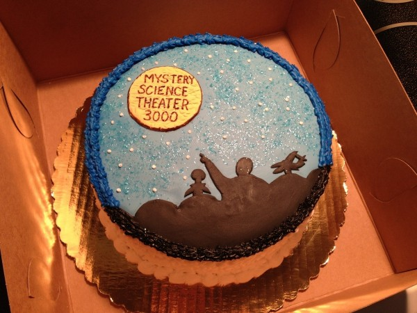 MST3Cake   This Mystery Science Theater 3000 Cake is No Lie