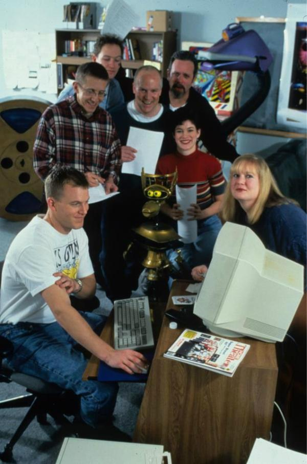 mst3k writers room circa 1998