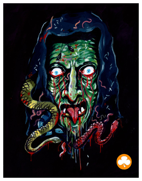 halloween iii witch mask by trevor henderson season of the witch silver shamrock