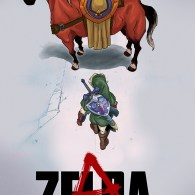 Akira x Legend of Zelda Mashup by Henrique Jardim - Anime + Gaming Art