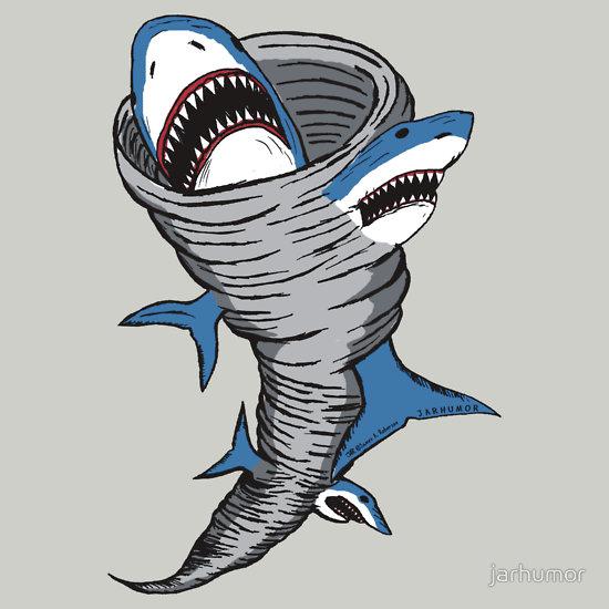 Sharknado T-Shirt by JARHUMOR