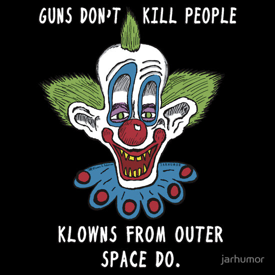 Killer Klowns from Outer Space T-Shirt by JARHUMOR