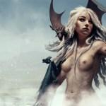 Mother of Dragons by Nicolas Siner - Daenerys Targaryen - Game of Thrones Art