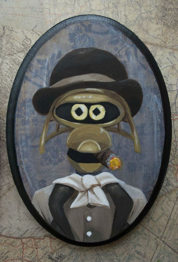 Crow T Robot 19th Century Painting - MST3K