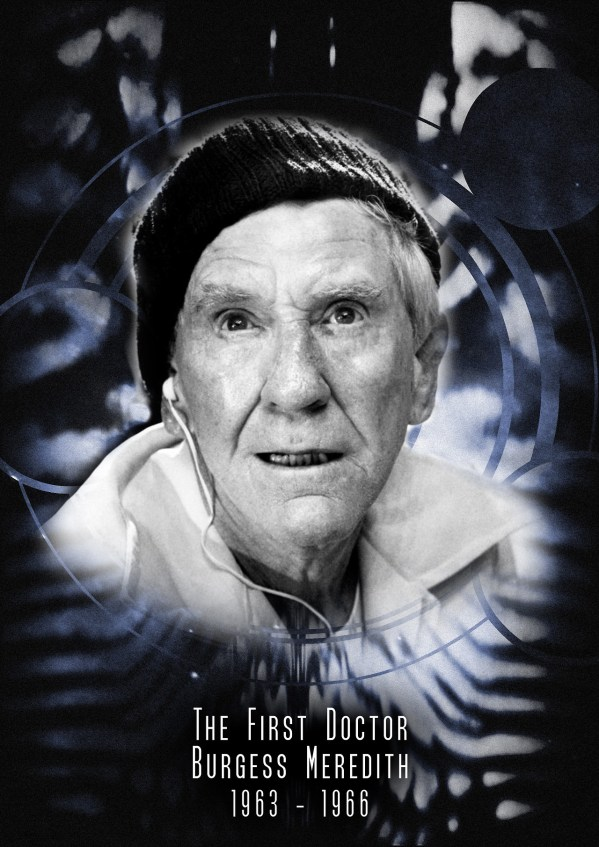 American Doctor Who - Burgess Meredith as the 1st Doctor