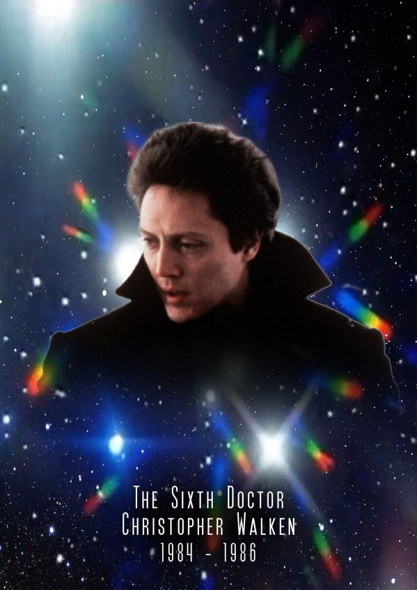 American Doctor Who - Christopher Walken as the 6th Doctor