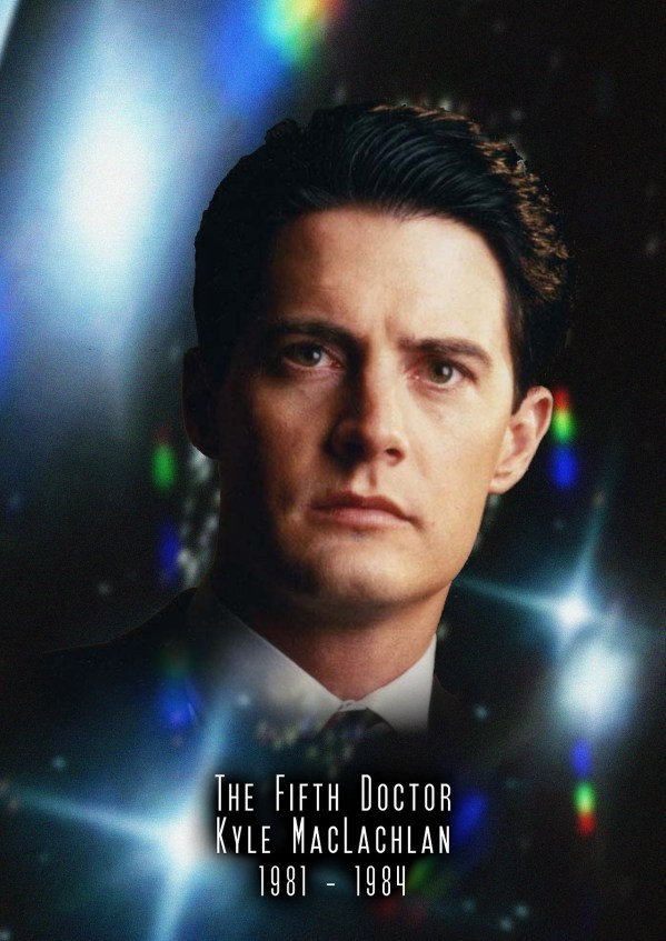 American Doctor Who - Kyle MacLachlan as the 5th Doctor