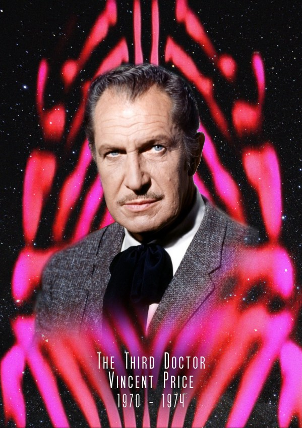American Doctor Who - Vincent Price as the 3rd Doctor