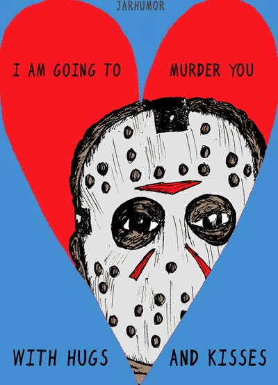Image result for horror valentine cards