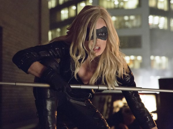 Arrow - Caity Lotz as Black Canary