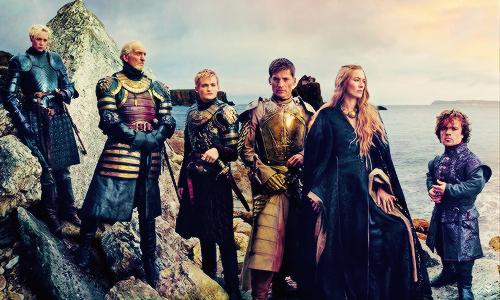 Game of Thrones Vanity Fair Photoshoot - Lannisters