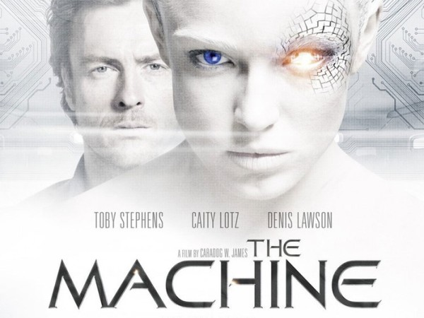 The Machine (2014) starring Toby Stephens and Caity Lotz