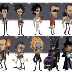 Evolution of Nicolas Cage by Jeff Victor