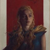 Daenerys Painting by Sam Spratt
