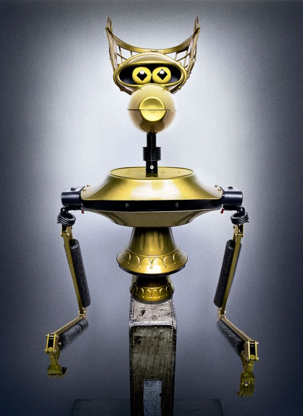 Photo of Crow T Robot from Mystery Science Theater 3000 by Platon