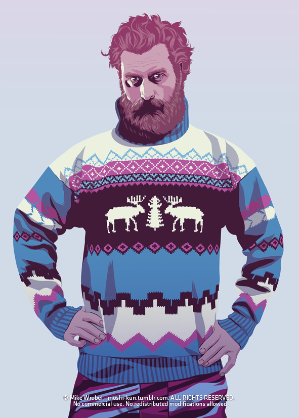 Tormund Giantsbane 80s/90s Style - Christmas Sweater - Game of Thrones