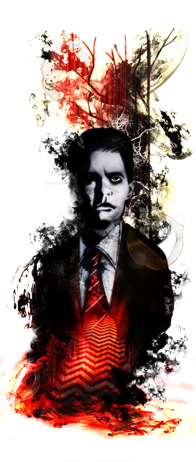 Special Agent Dale Cooper from Twin Peaks by Matteo Bocci
