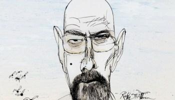 dcc748947 Breaking Bad Illustrations by Gonzo Artist Ralph Steadman