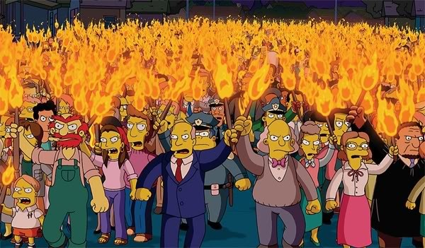 Simpsons lynch mob