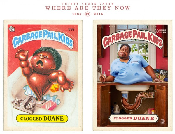 Clogged Duane - Where Are They Now - Garbage Pal Kids