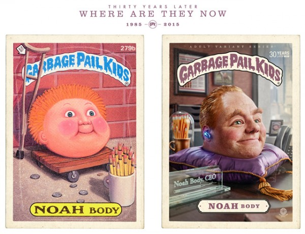 Noah Body - Where Are They Now - Garbage Pal Kids