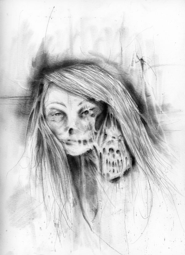 7 - Bloody Mary x Infinity - Nightmare Soup inspired by Scary Stories to Tell in the Dark's Stephen Gammell