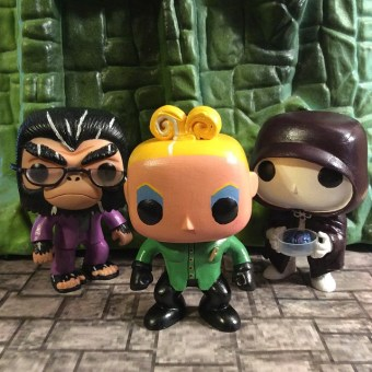 Bobo, Pearl and Brain Guy - MST3K Funko Pop Vinyl - Kevin Murphy, Mary Jo Pehl, Bill Corbett on Mystery Science Theater 3000