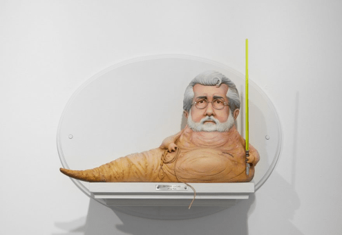 George Lucas Jabba the Hutt by Mike Leavitt