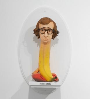 Woody Allen by Mike Leavitt