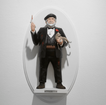 Francis Ford Coppola Godfather figure by Mike Leavitt
