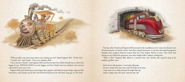 Charlie the Choo-Choo Dark Tower Children's Book by Stephen King (3)