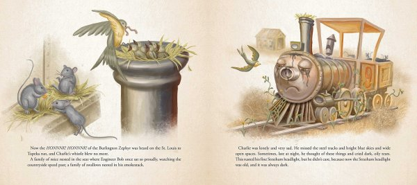 Charlie the Choo-Choo Dark Tower Children's Book by Stephen King (5)