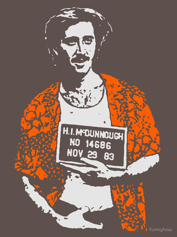 Nicolas Cage Raising Arizona H.I. Design