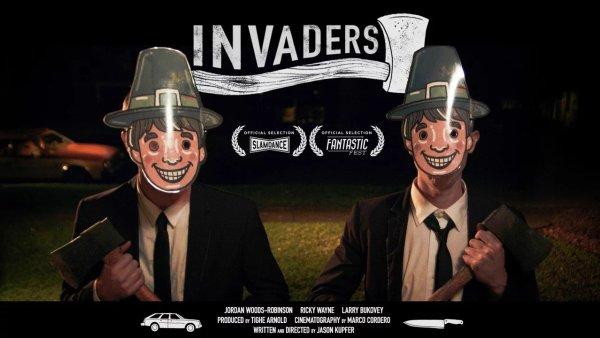 Invaders - Thanksgiving-themed horror short film by Jason Kupfer