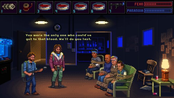 John Carpenter's The Thing LucasArts style point and click adventure game by Paul Conway @DoomCube