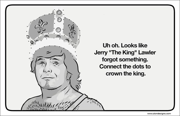 Old School Wrestling Activity Book Jerry Lawler