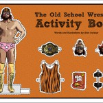 Old School Wrestling Activity Book Macho Man