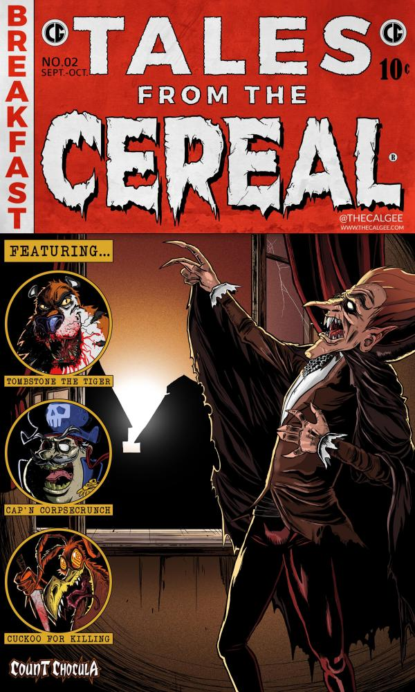Count Chocula Tales From The Crypt Art