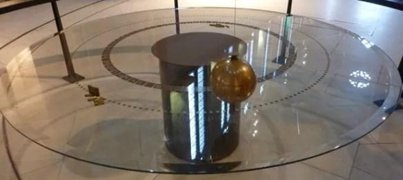 Foucault's Pendulum at the Musée des Arts et Métiers (Paris)