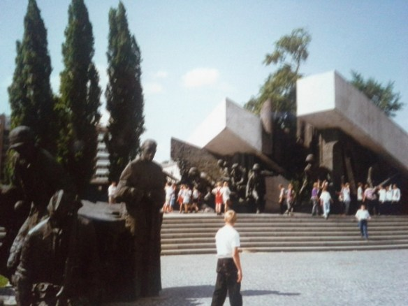 Warsaw Uprising Monument, Krasinski Square, Warsaw, Poland – Isla McKetta's Photo Collection