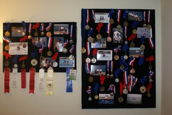 Radu's Rowing Medals