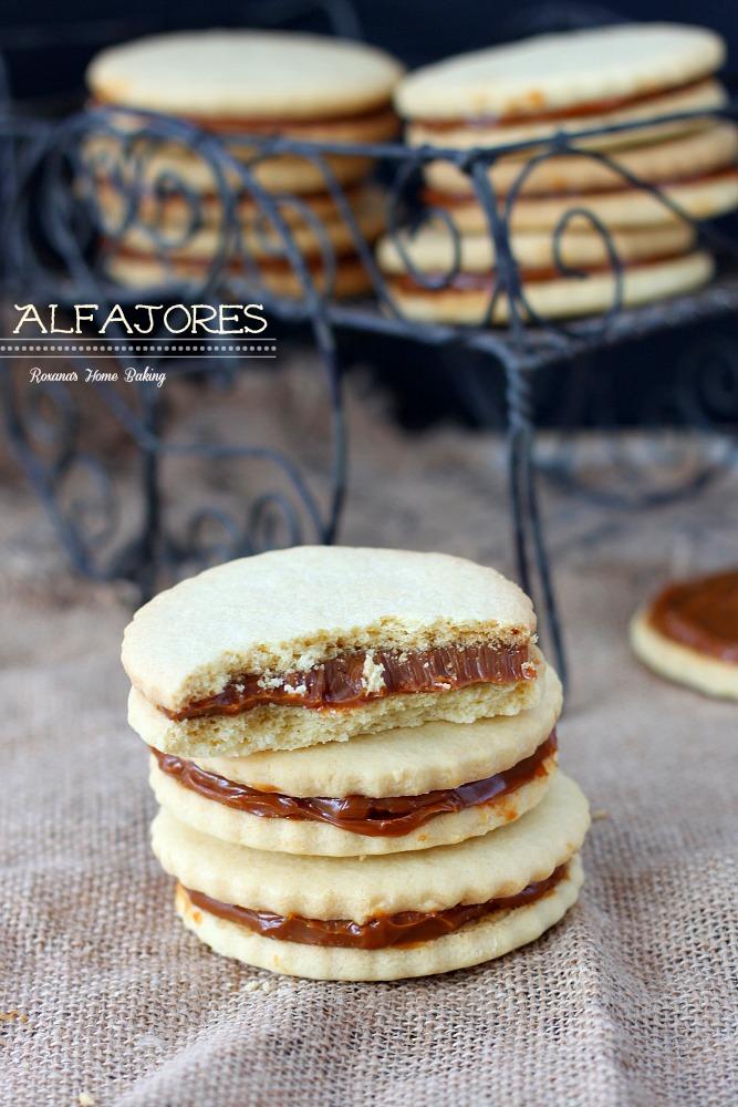 Alfajores Dulce de Leche Sandwich Cookies Roxana's Home Baking