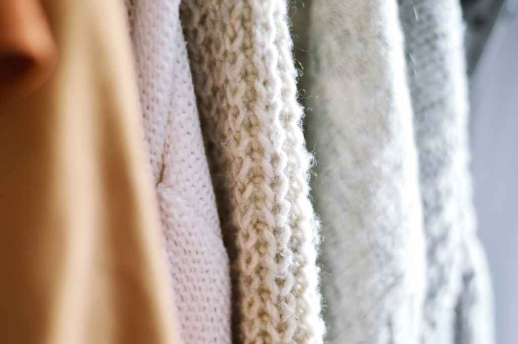 close up photo of knitted sweater