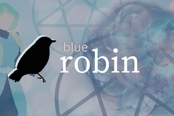 the blue robin sirene series temporary banner