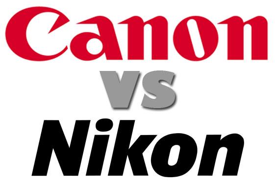 Canon-versus-Nikon