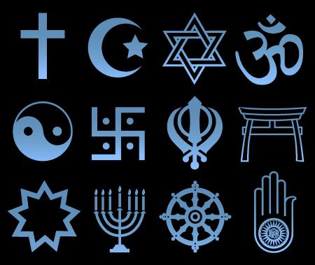 religious-symbols-black