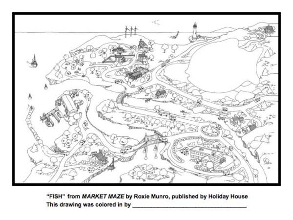 maze coloring pages # 29