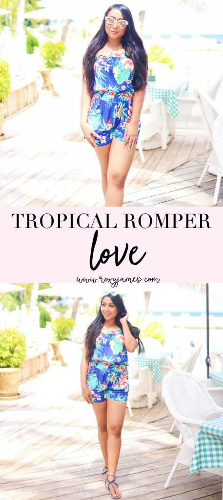 Tropical Romper – Perfect for Island Get Aways